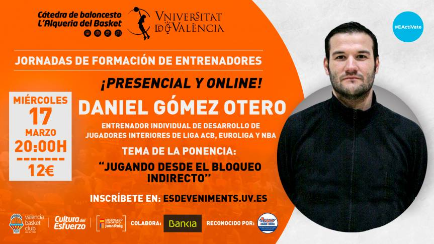 Daniel Gómez Otero will be in the sixth training day of the Basketball Chair