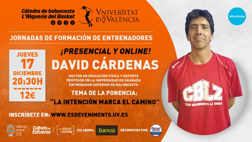 David Cárdenas, protagonist of the third training day of the Basketball Chair