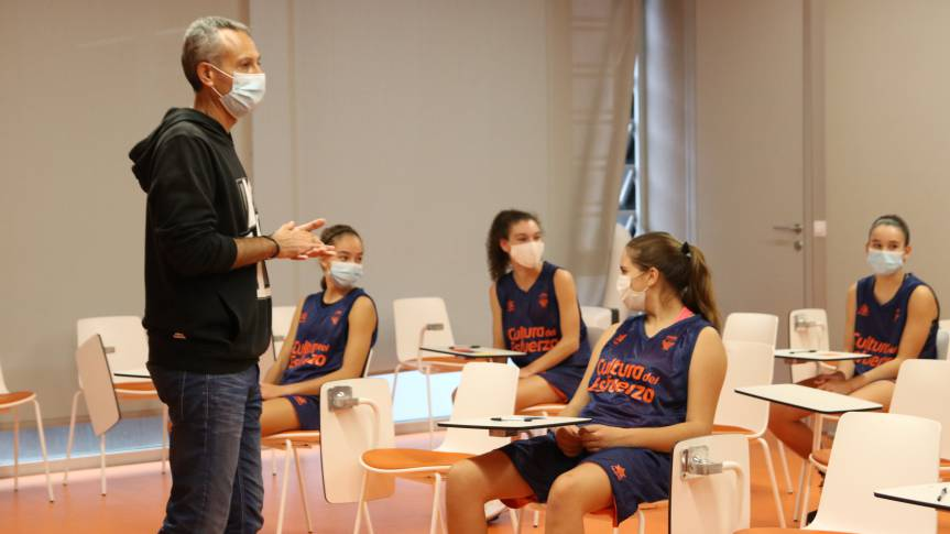 Comprehensive development and education in values: The basis of training at L'Alqueria del Basket