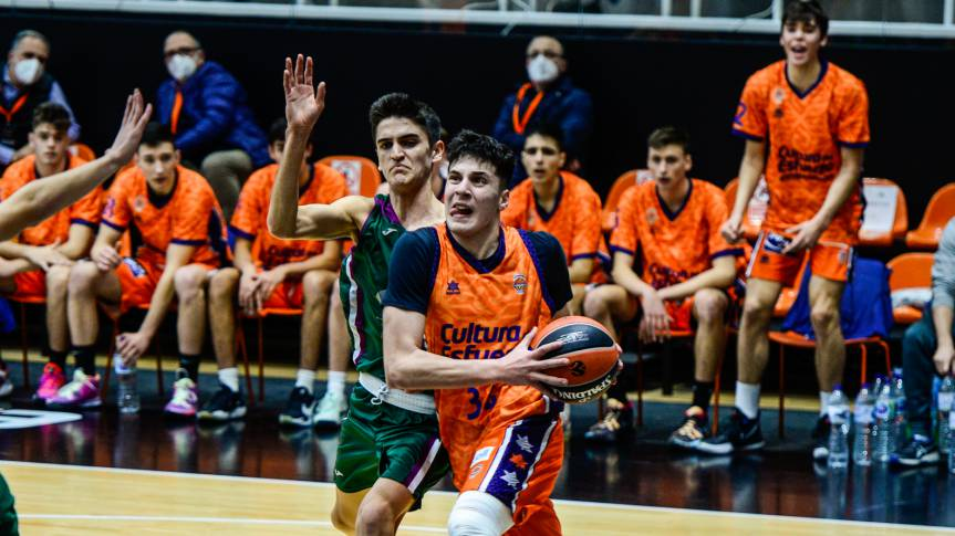 Valencia Basket loses in the first Euroleague Baketball Adidas NGT game (56-68)