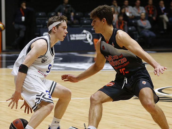 The juniors, key player in the great first phase of Valencia Basket in the EBA League